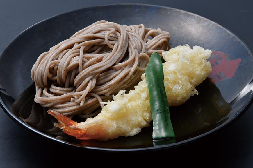 天ぷら小皿そば