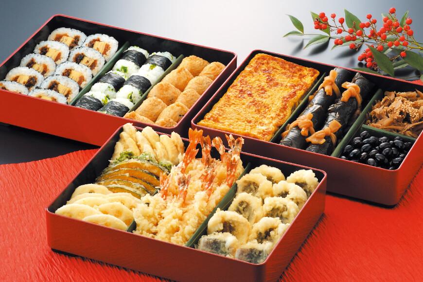 三段重/巻寿司盛/玉子盛/天ぷら盛
